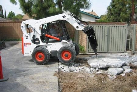 Narrow Access excavation